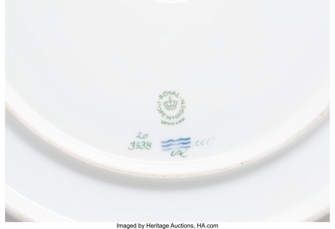 63445: A Royal Copenhagen Flora Danica Pattern Porcelai - 3