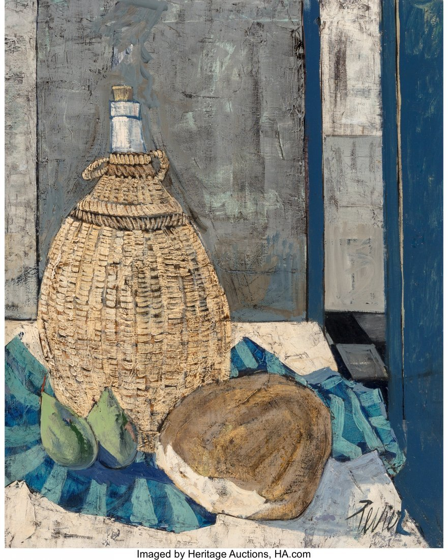 63761: Charles Levier (French, 1920-2003) Pain et Vin O