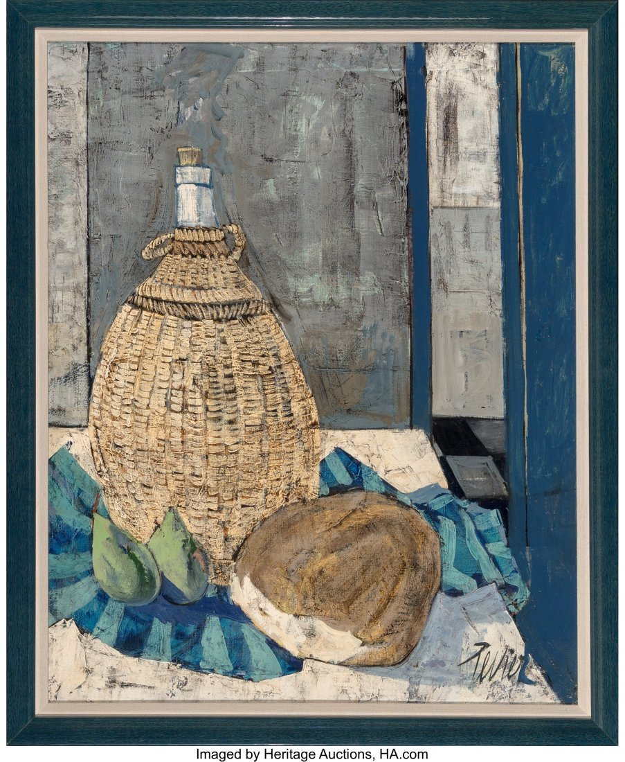 63761: Charles Levier (French, 1920-2003) Pain et Vin O - 2