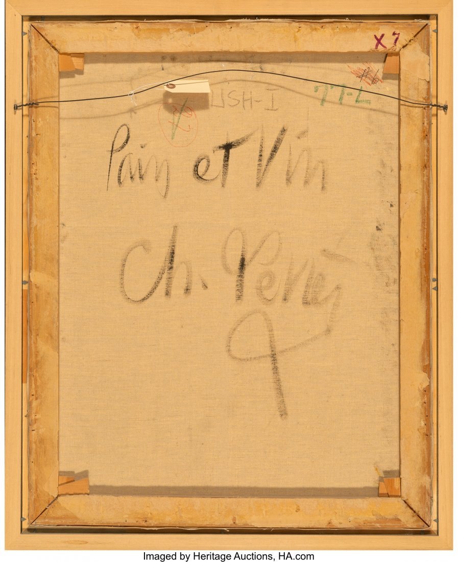 63761: Charles Levier (French, 1920-2003) Pain et Vin O - 4