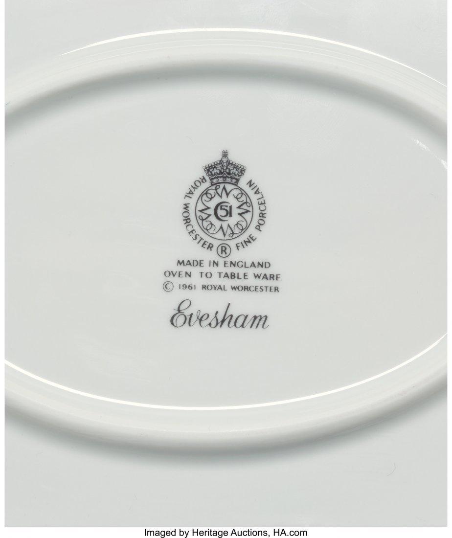 63472: A Eighty-Nine Piece Royal Worcester Evesham Gold - 2