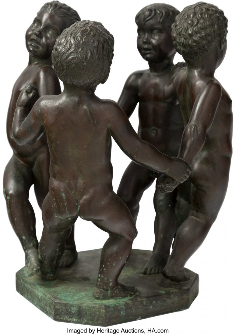 63691: Wheeler Williams (American, 1897-1972) Les Enfan