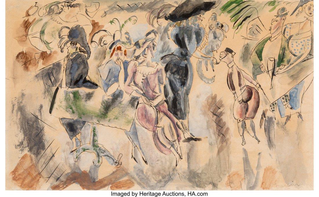 63707: Jules Pascin (American, 1885-1930) Club New York