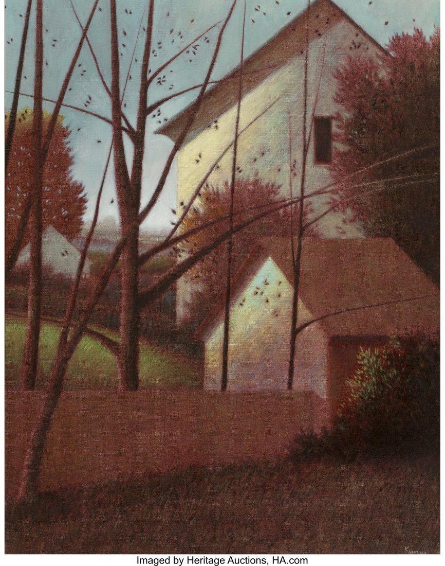 63715: Robert Kipniss (American, b. 1931) Untitled Oil