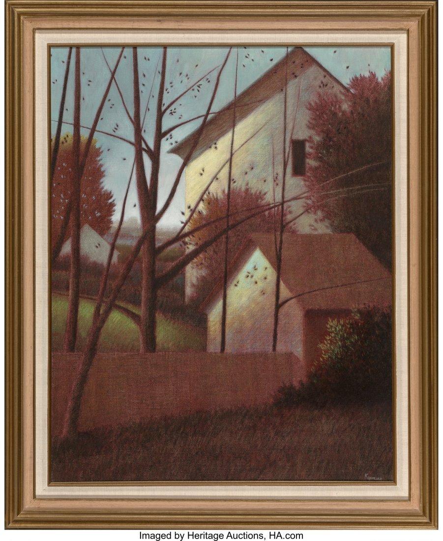 63715: Robert Kipniss (American, b. 1931) Untitled Oil  - 2