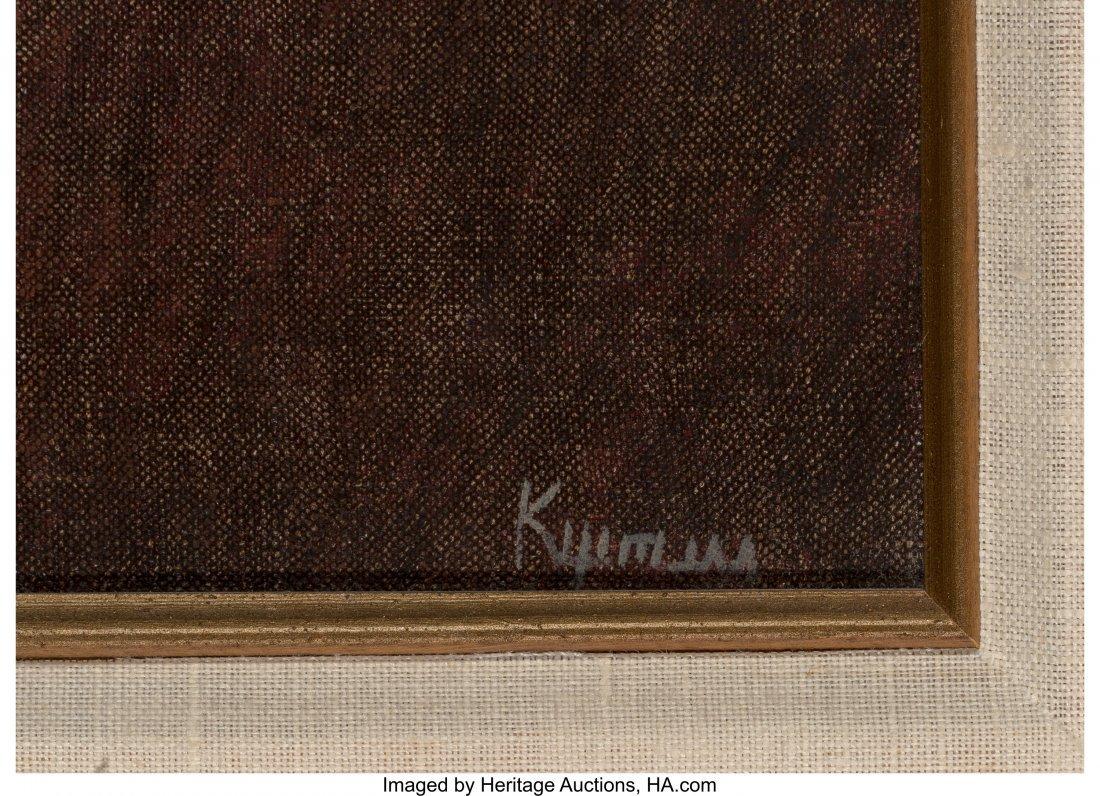 63715: Robert Kipniss (American, b. 1931) Untitled Oil  - 3