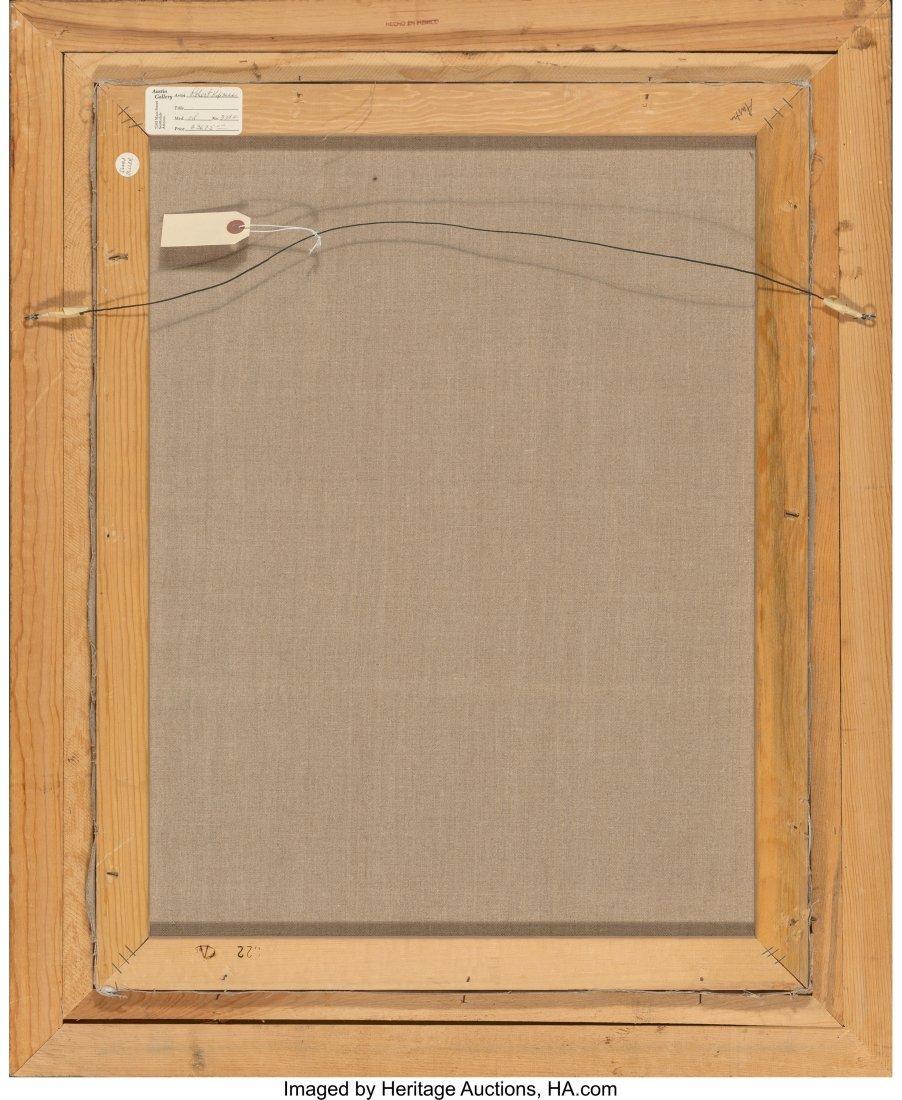 63715: Robert Kipniss (American, b. 1931) Untitled Oil  - 4