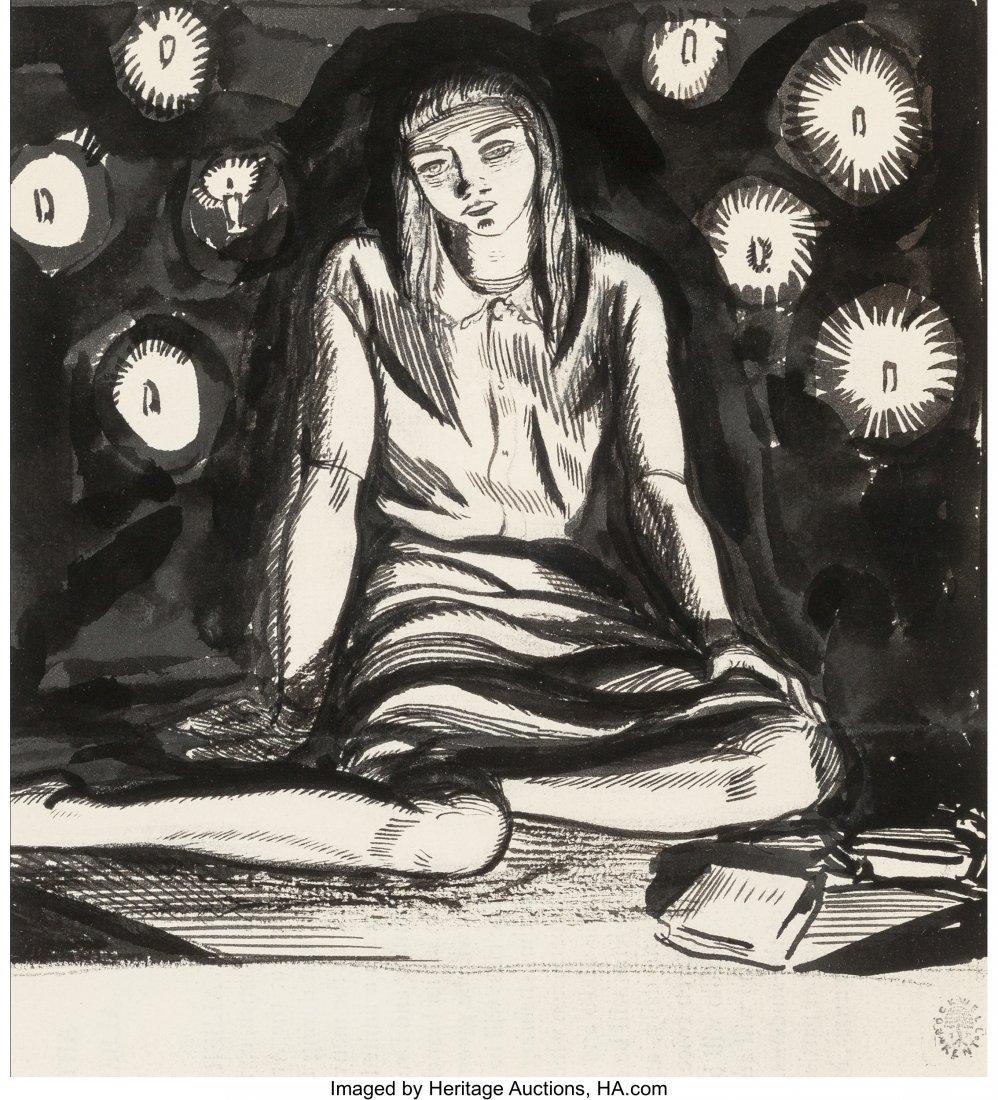 63650: Rockwell Kent (American, 1882-1971) Candlelight