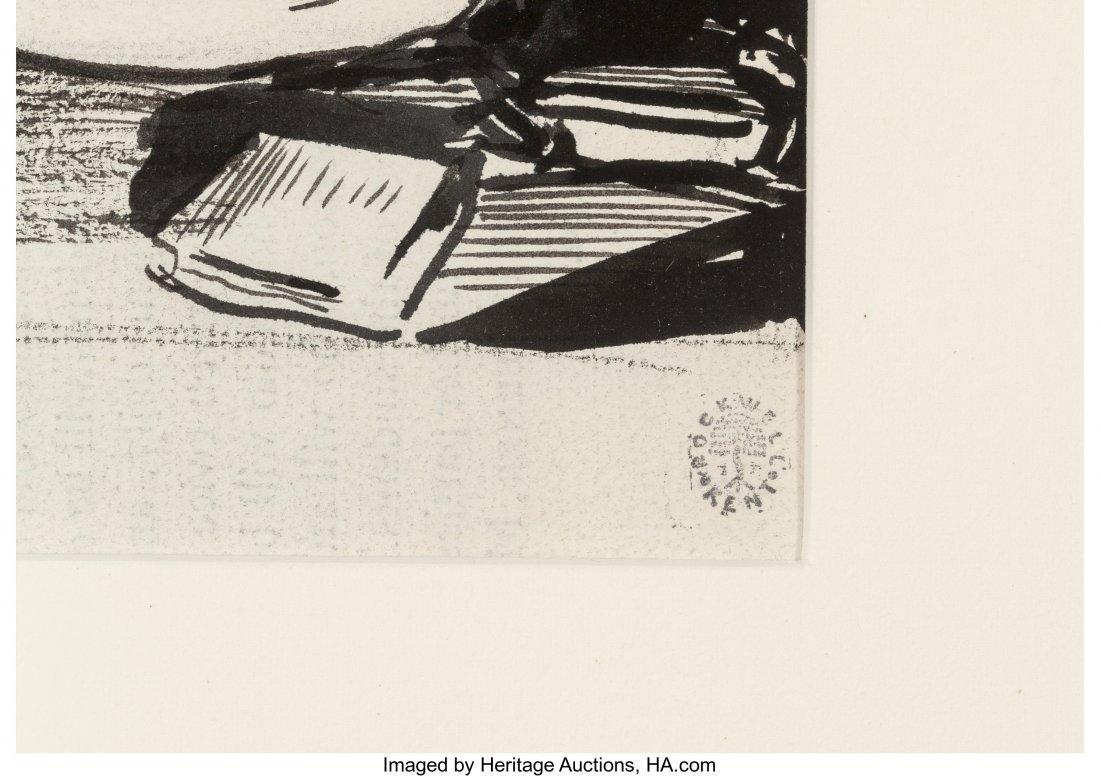 63650: Rockwell Kent (American, 1882-1971) Candlelight  - 3
