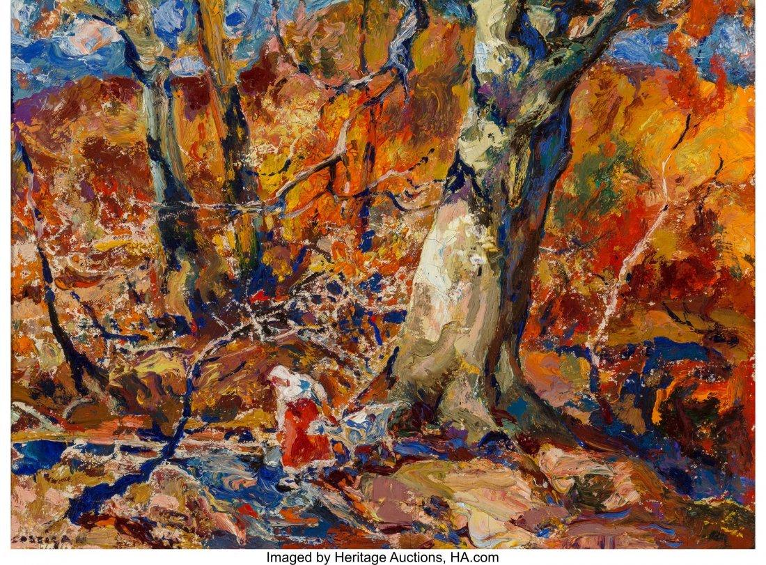 63653: John E. Costigan (American, 1888-1972) October F