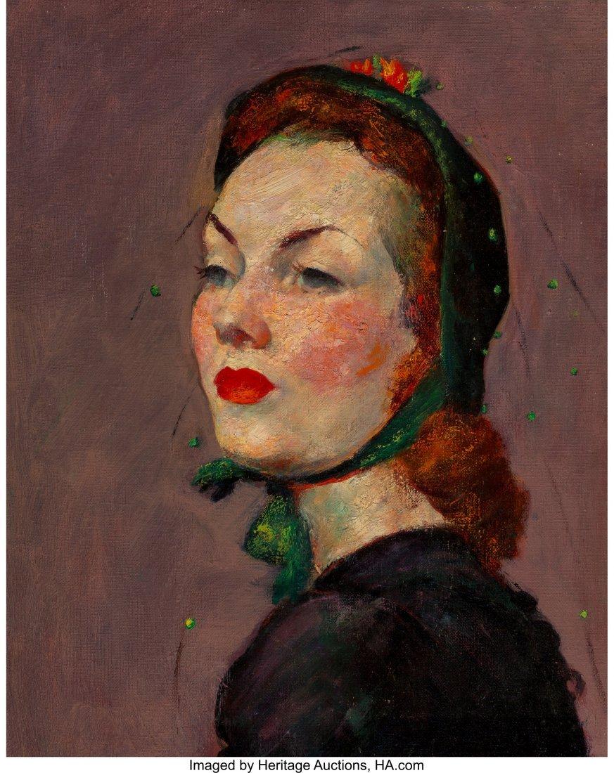 63657: Kyohei Inukai (American, 1913-1985) The Green Bo