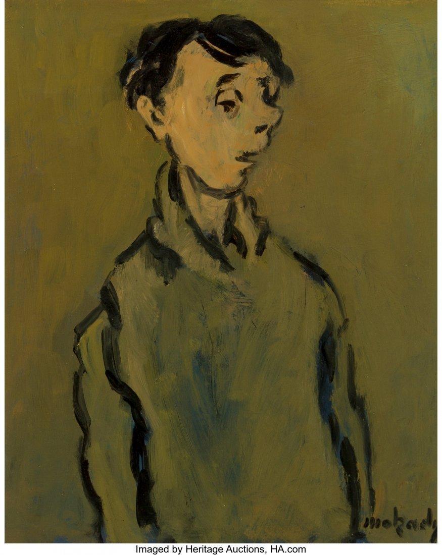 63660: Moshe Mokady (Israeli/Austrian, 1902-1975) Stand