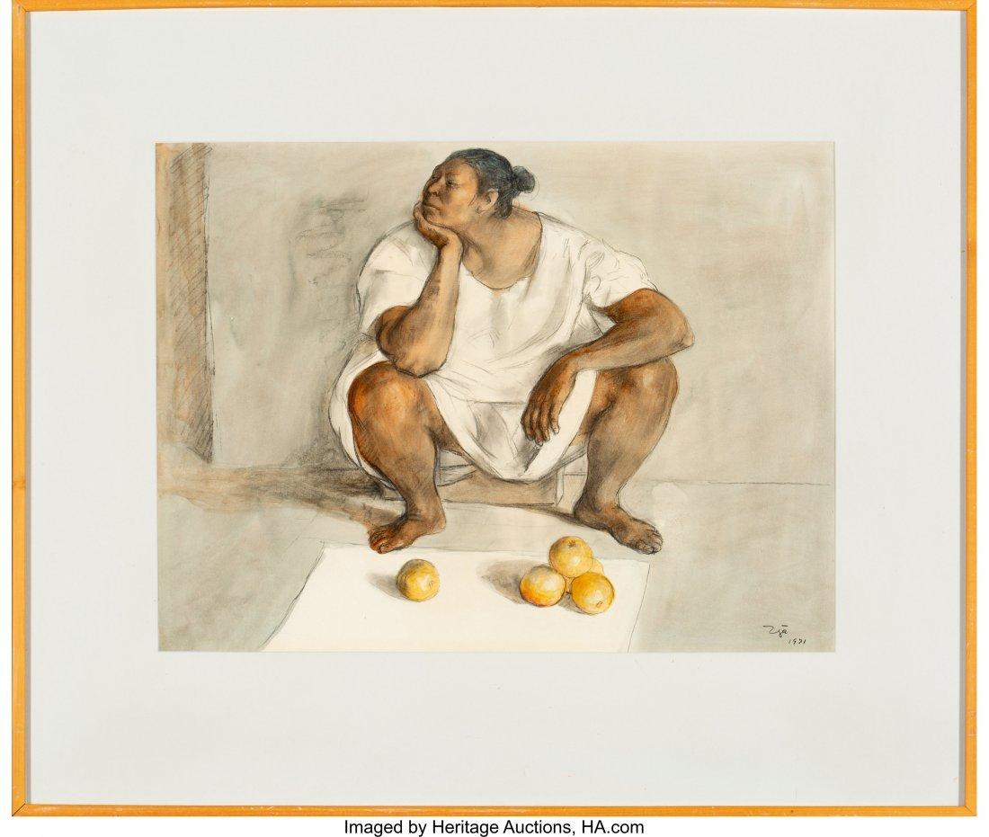 63740: Francisco Zúñiga (Mexican, 1912-1998) Vendedor - 2