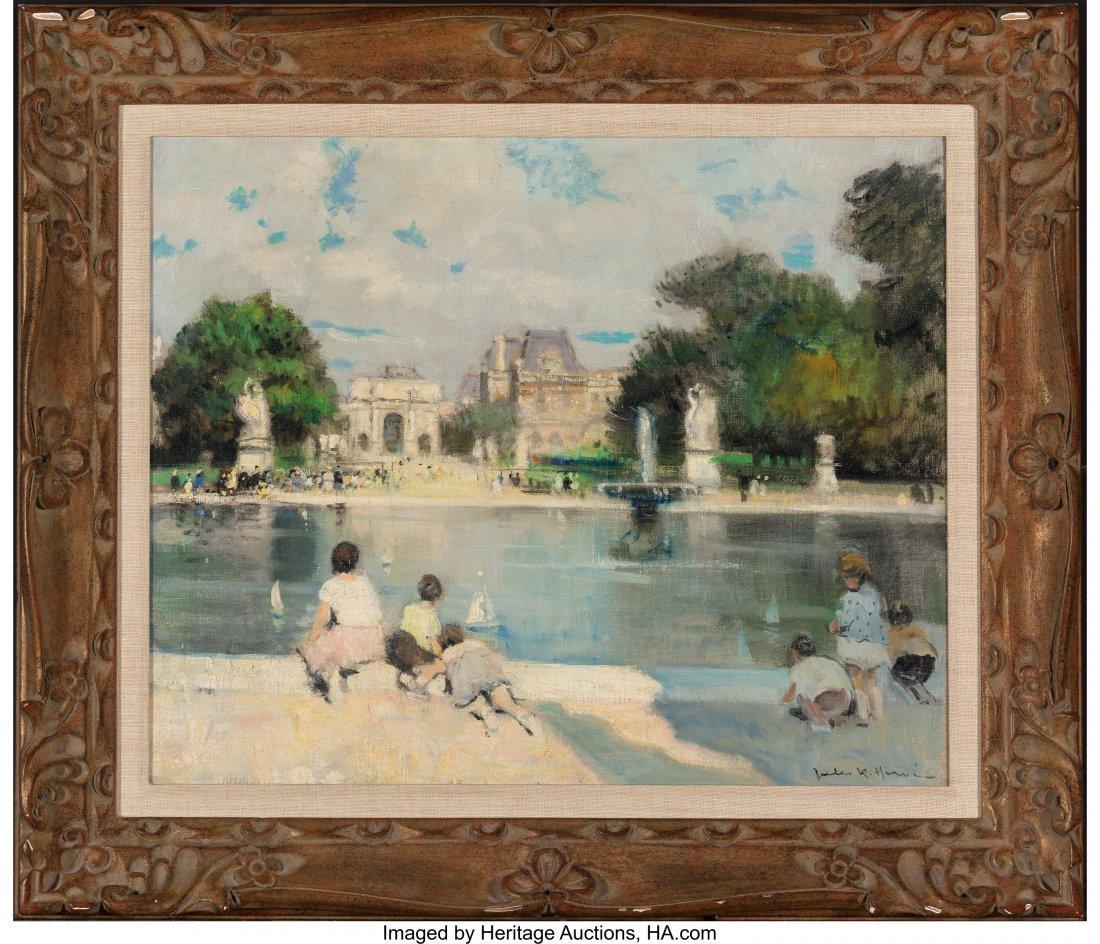 63666: Jules René Hervé (French, 1887-1981) Children  - 2