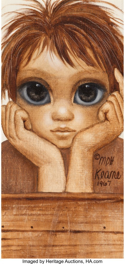63753: Margaret Keane (American, b. 1927) Little Boy, 1