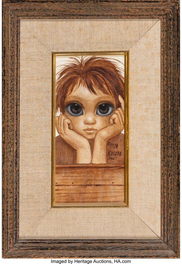 63753: Margaret Keane (American, b. 1927) Little Boy, 1 - 2