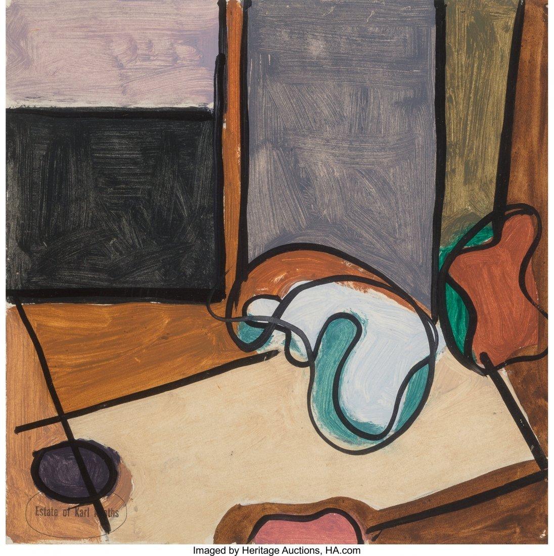 63772: Karl Knaths (American, 1891-1971) Abstract Study