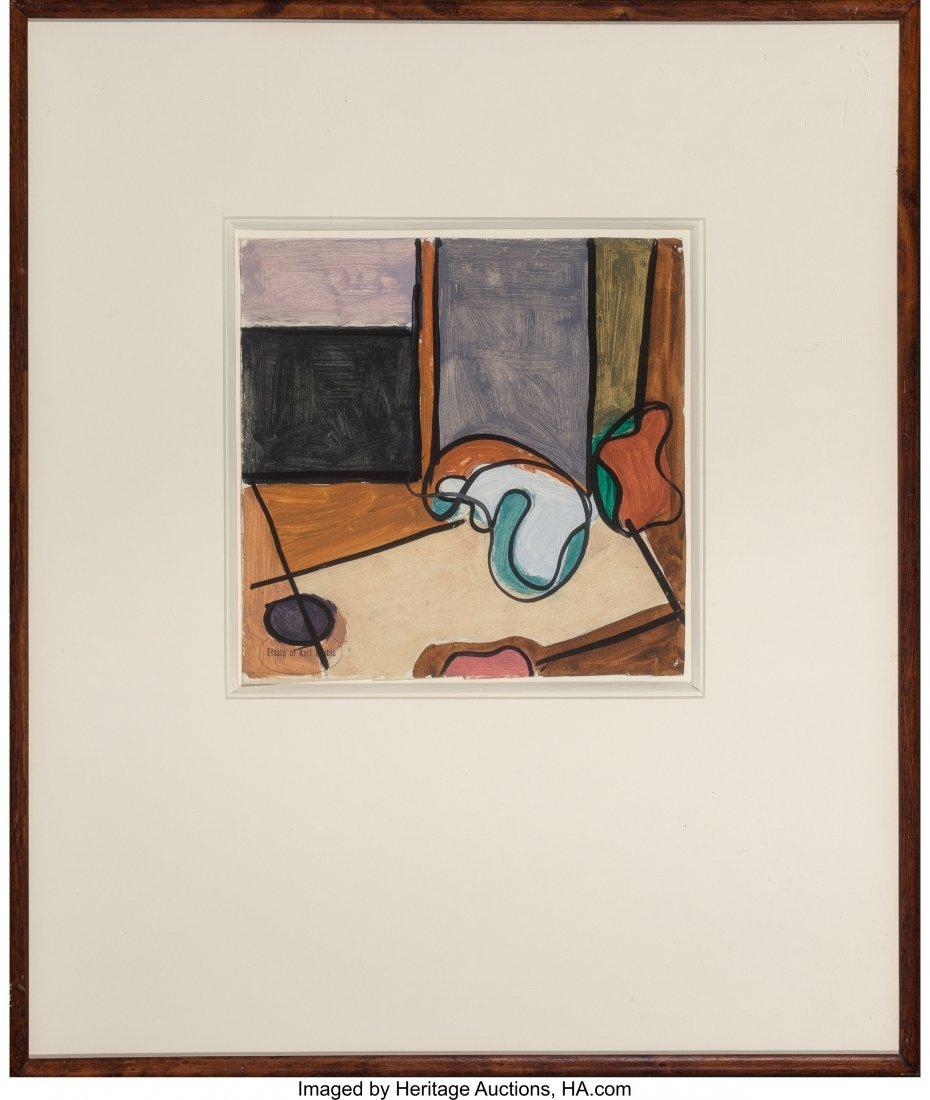 63772: Karl Knaths (American, 1891-1971) Abstract Study - 2