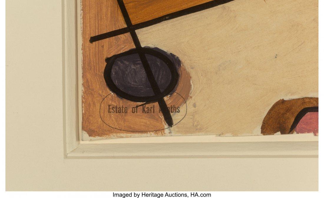63772: Karl Knaths (American, 1891-1971) Abstract Study - 3
