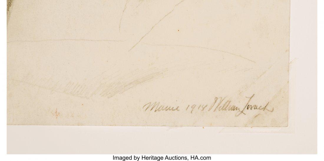 63786: William Zorach (American, 1887-1966) Stonington, - 2