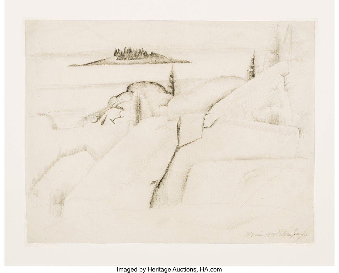 63786: William Zorach (American, 1887-1966) Stonington, - 3