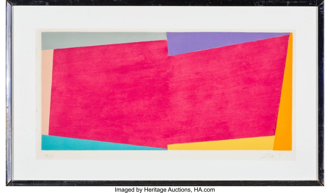 63888: Larry Zox (American, 1936-2006) Untitled, 1971 S - 2