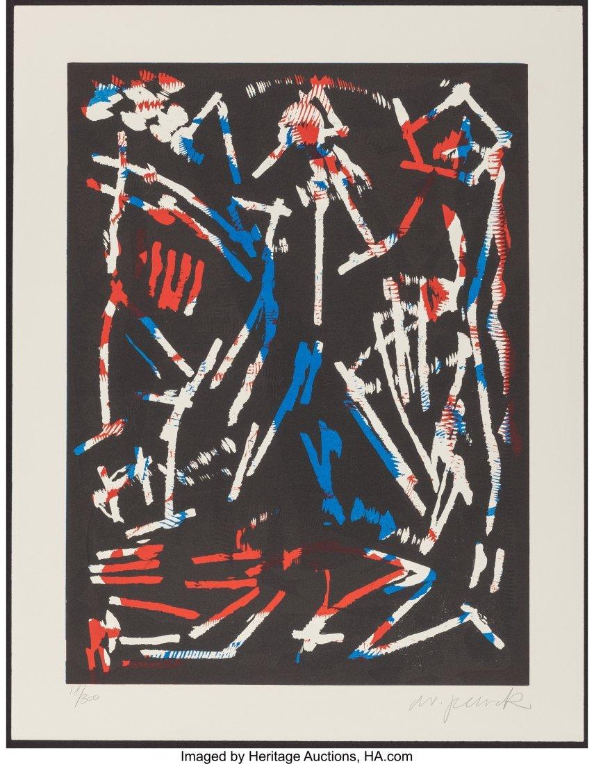 63894: A. R. Penck (1939-2017) Mul, Bul, Dang & Sentime - 2