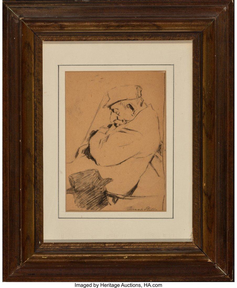 63808: Joseph Stella (American, 1877-1946) Sleeping Man - 2