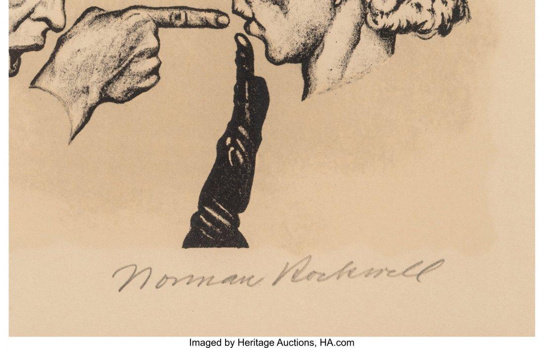63822: Norman Rockwell (American, 1894-1978) Gossips Li - 3