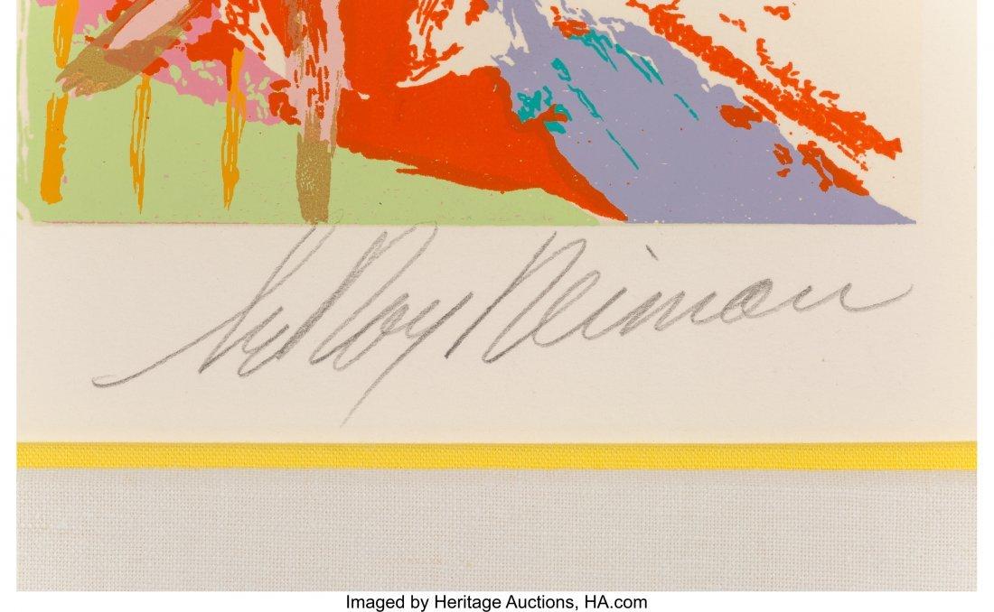 63829: LeRoy Neiman (American, 1921-2012) La Plage au D - 3