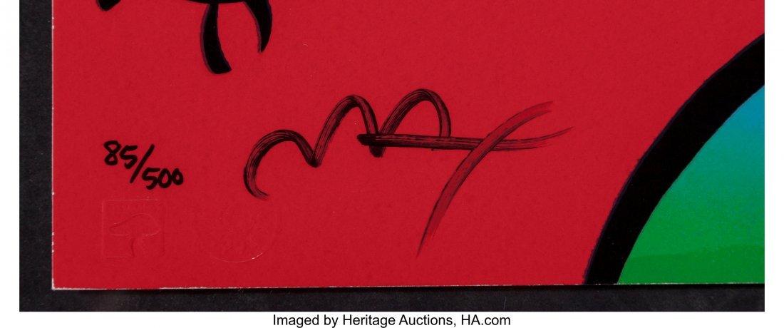 63929: Peter Max (American, b. 1937) Goofy, Suite II, 1 - 2