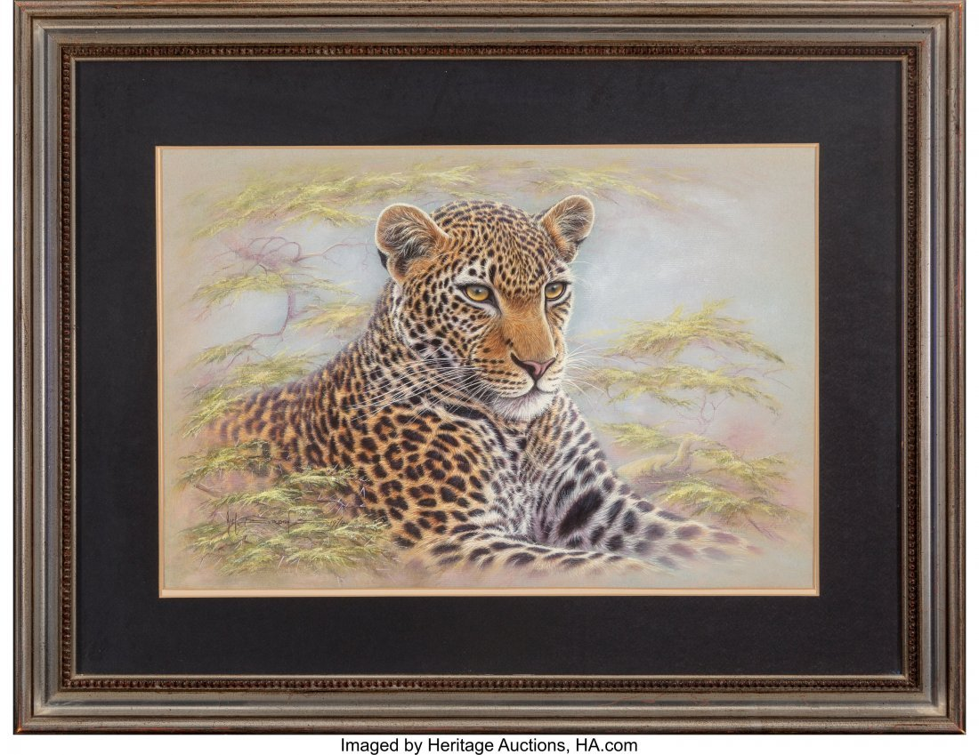 63835: Kim Brooks (American/British, b. 1936) Leopard,  - 2