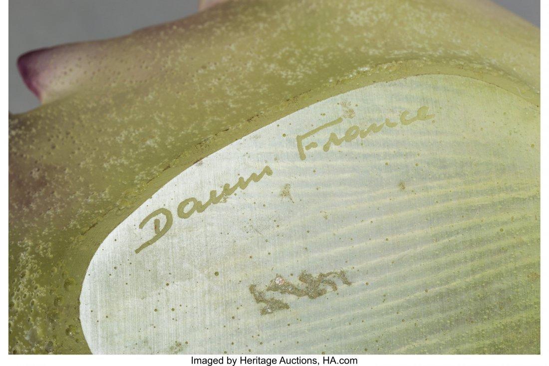 64158: A Group of Four Daum Pâte de Verre Glass Table  - 2