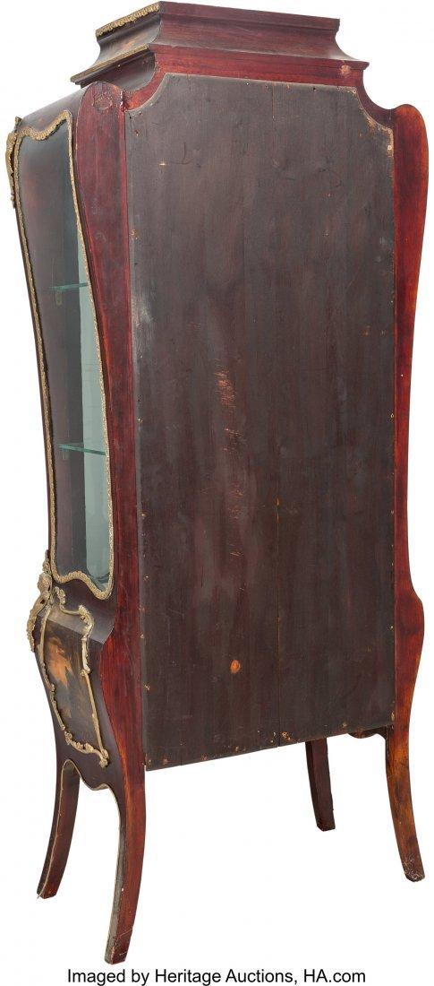 64103: A Louis XV-Style Vernis Martin Bombe Glazed Vitr - 2
