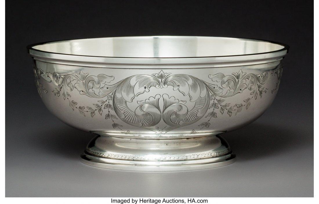 64273: An S. Kirk & Son Silver Centerpiece Bowl, Baltim