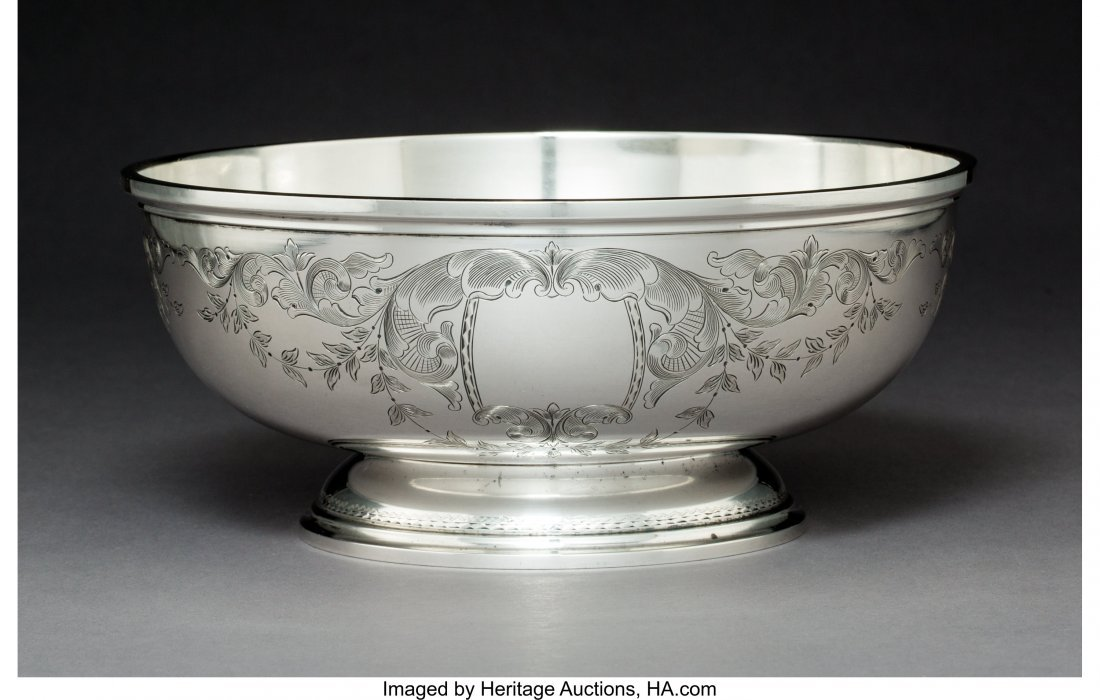 64273: An S. Kirk & Son Silver Centerpiece Bowl, Baltim - 2