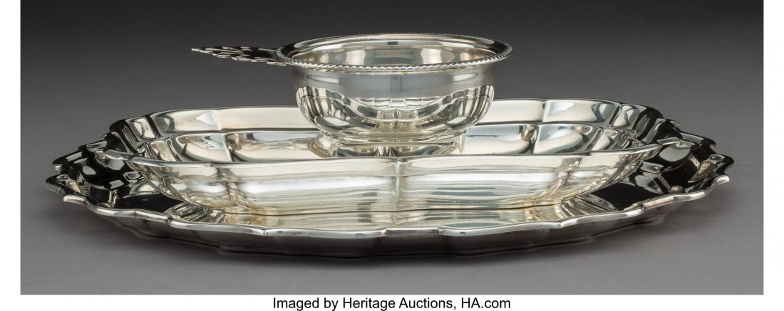 64310: A Group of Three Reed & Barton Silver Tablewares - 2