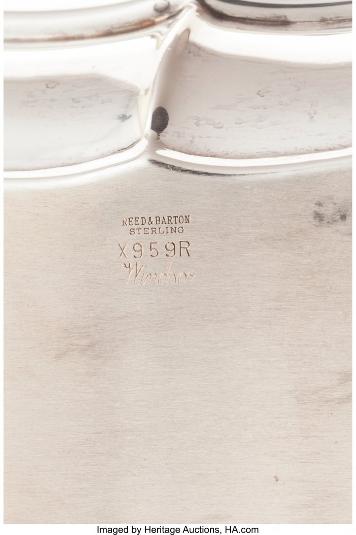 64310: A Group of Three Reed & Barton Silver Tablewares - 3
