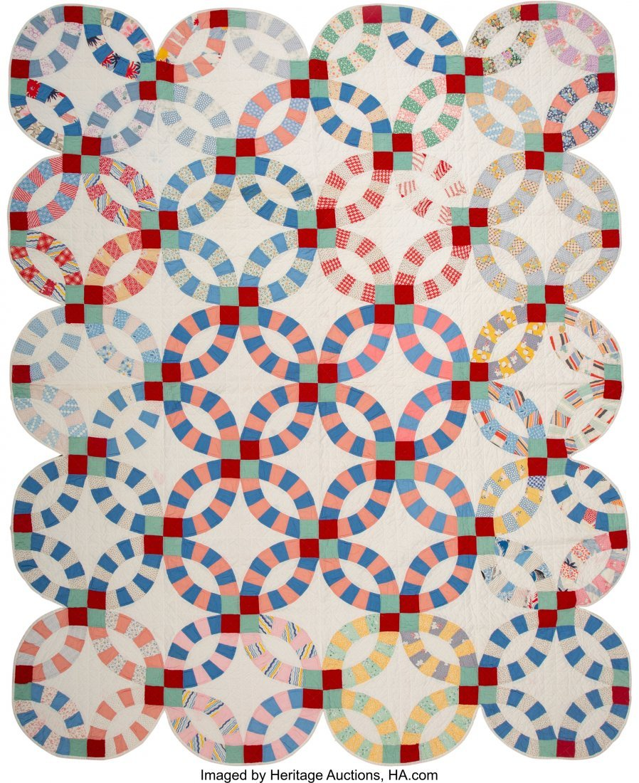 64318: A Group of Four American Quilts, 20th century  7 - 3