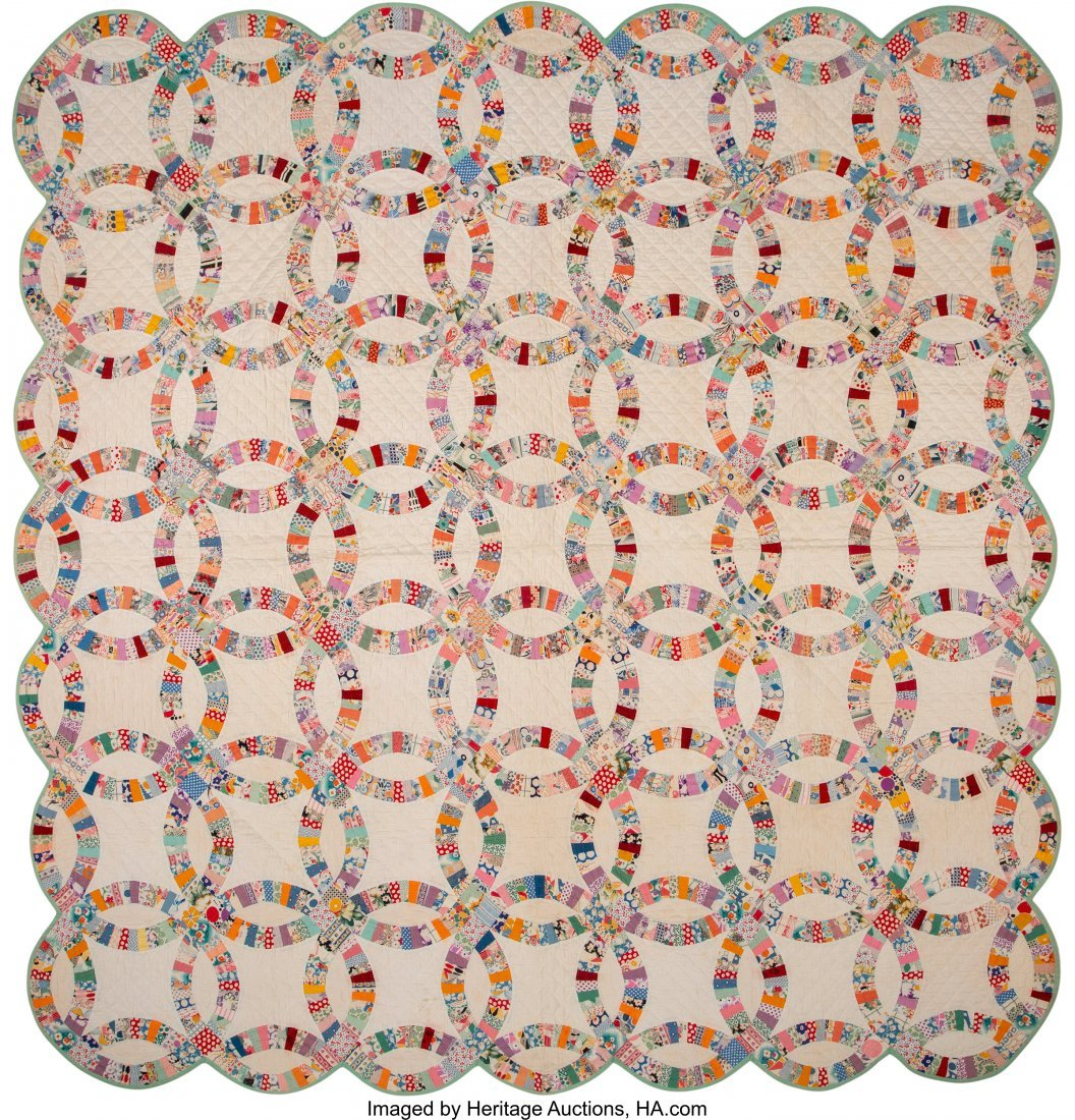64318: A Group of Four American Quilts, 20th century  7 - 4