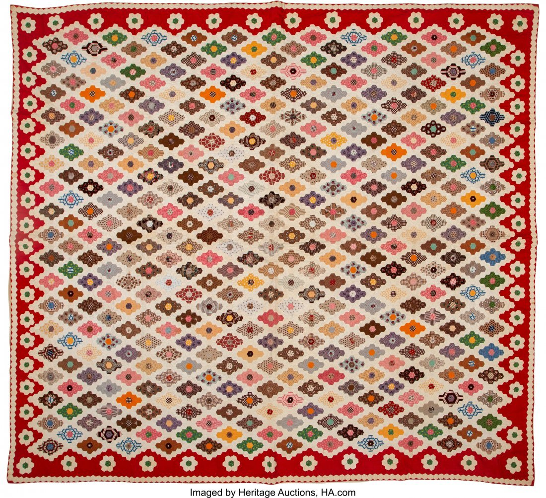 64318: A Group of Four American Quilts, 20th century  7 - 5
