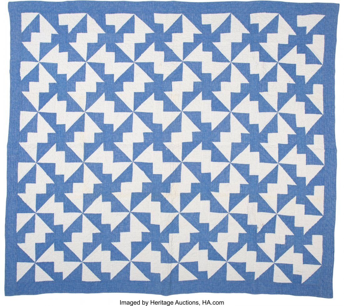 64319: A Group of Four American Quilts, 20th century  8