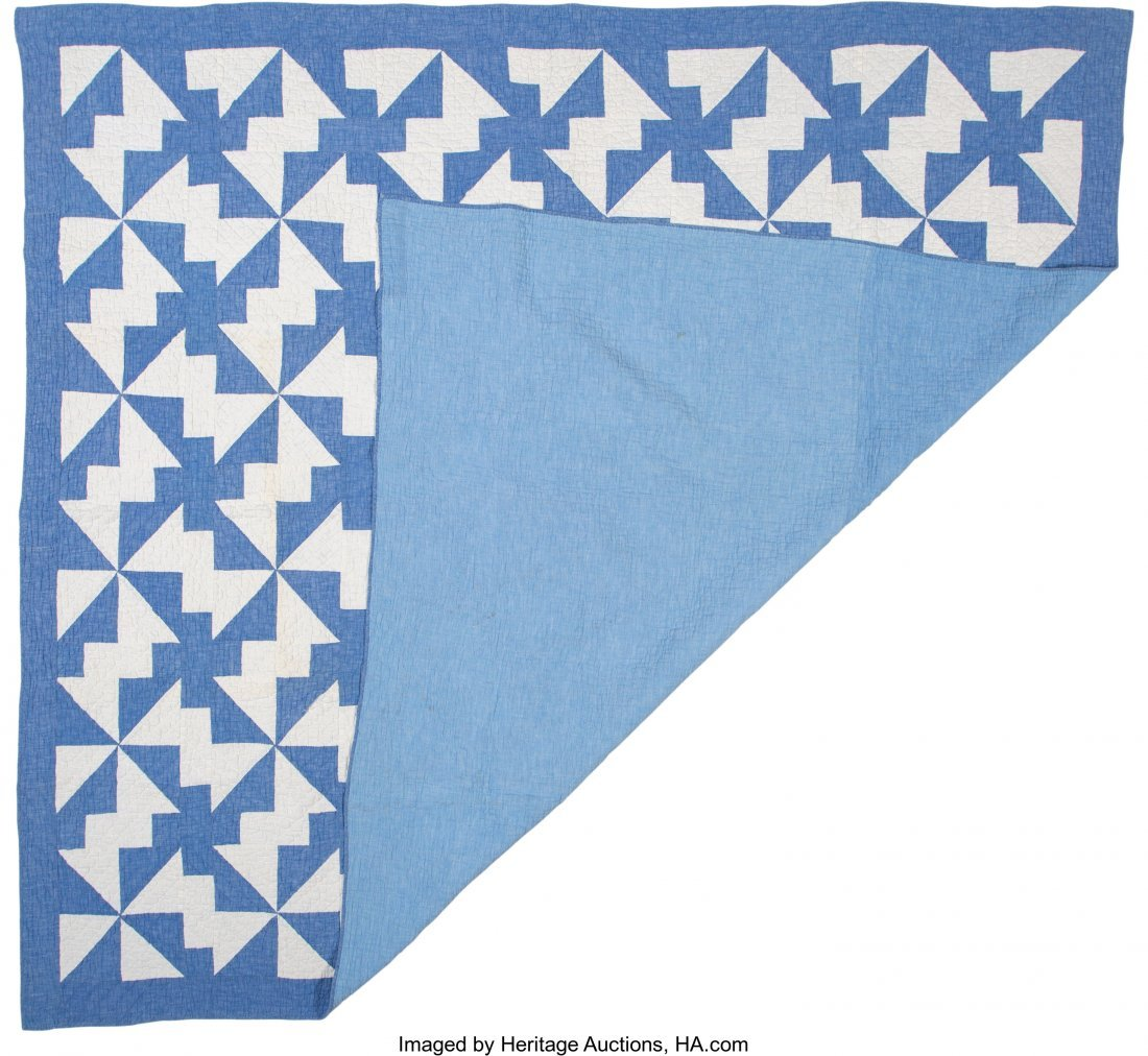 64319: A Group of Four American Quilts, 20th century  8 - 2