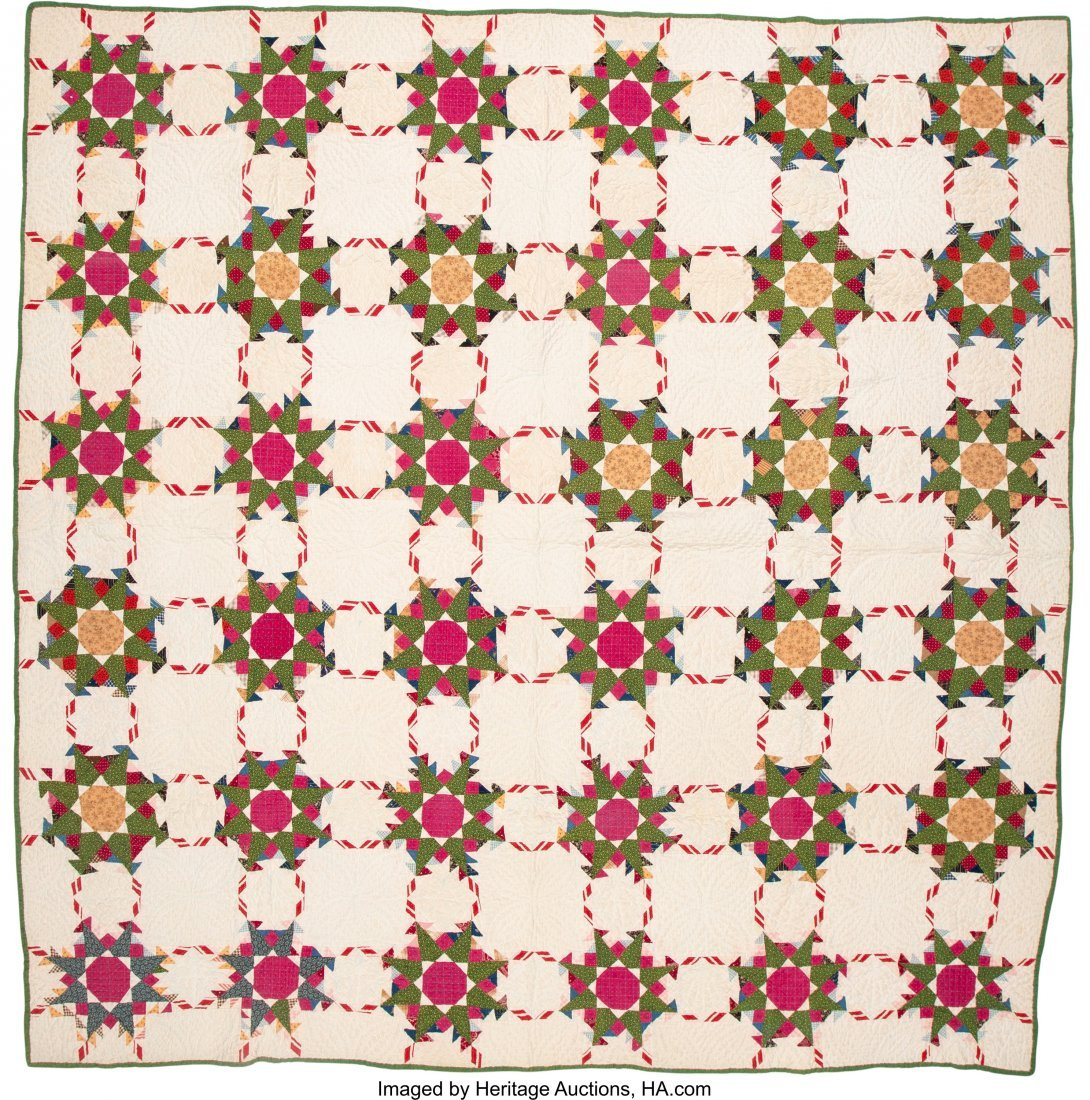 64319: A Group of Four American Quilts, 20th century  8 - 3