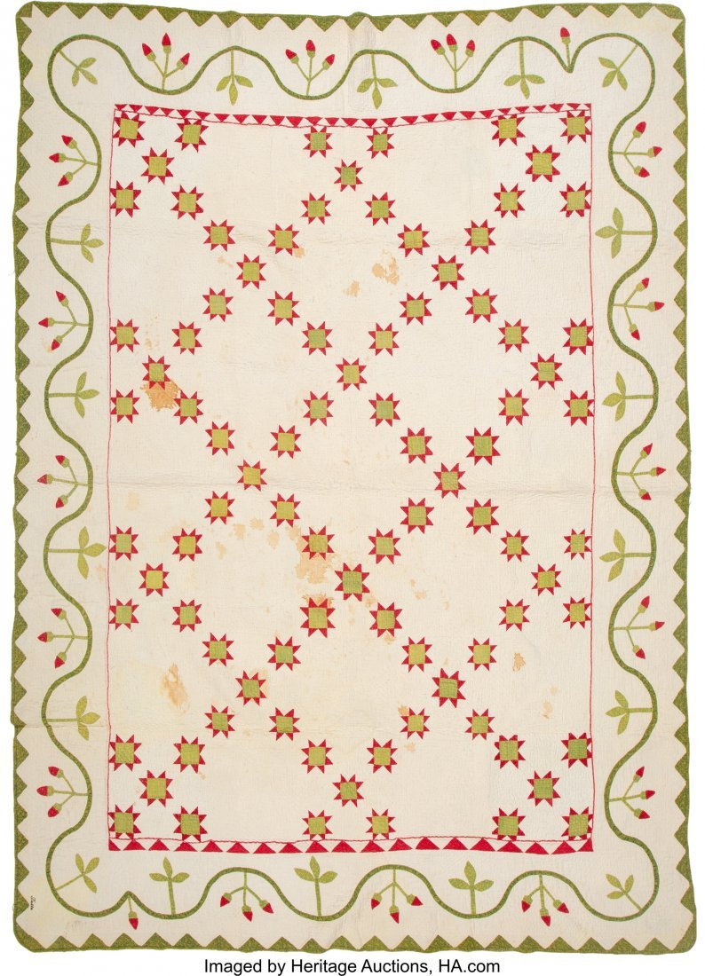 64319: A Group of Four American Quilts, 20th century  8 - 4