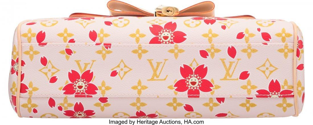 58107: Louis Vuitton Monogram Red Cherry Blossom Sac Re - 3