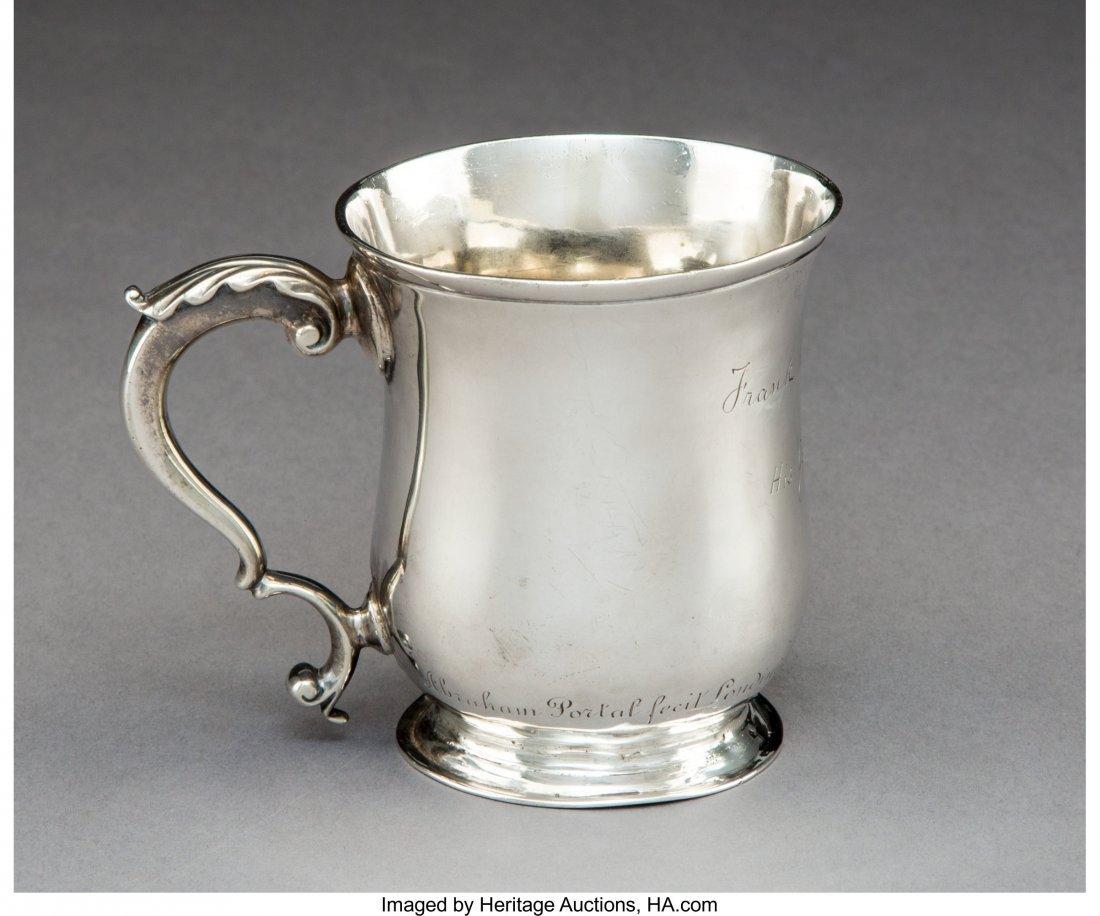74288: A George II Silver Mug, London, 1767 Marks: (par