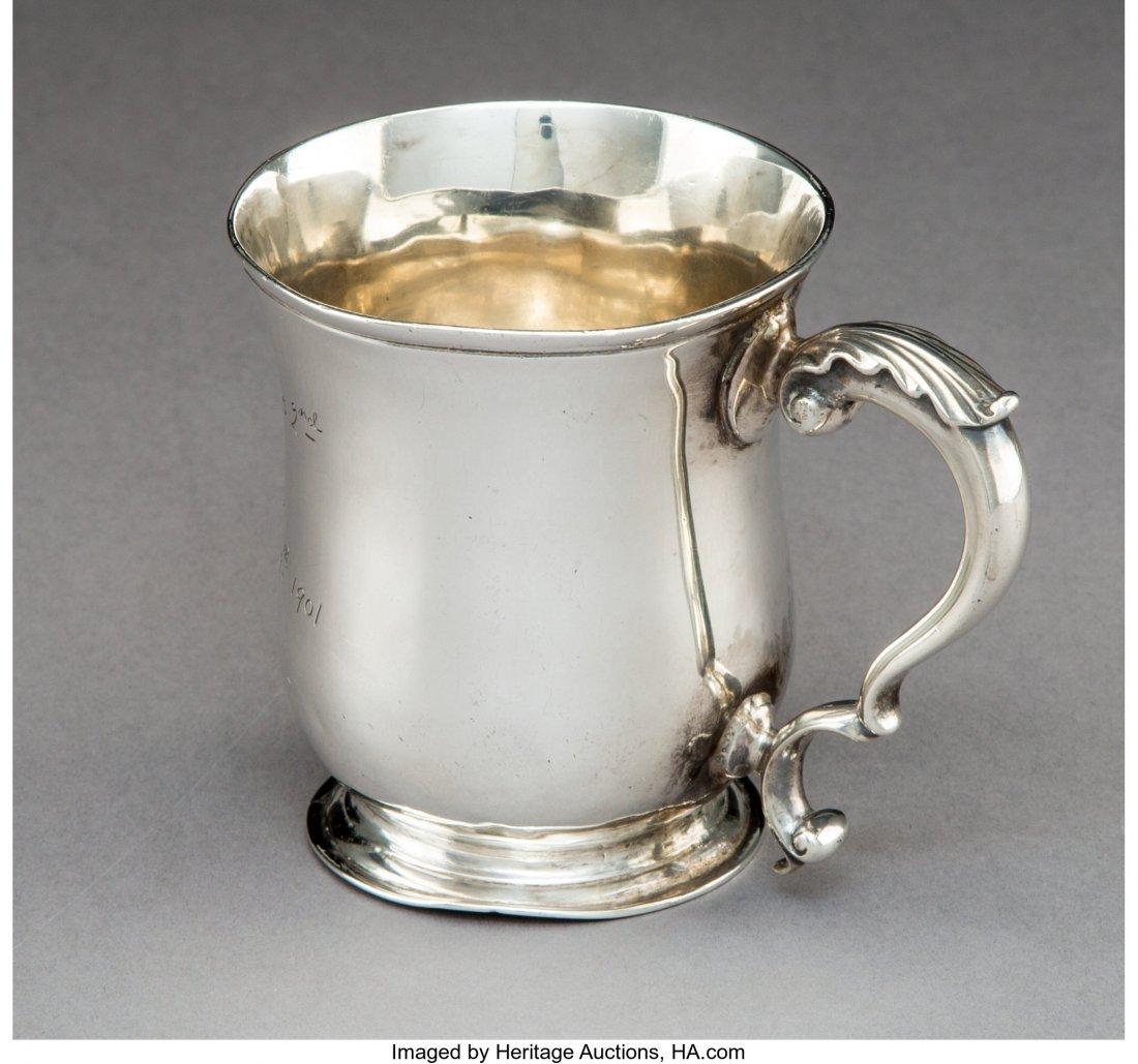 74288: A George II Silver Mug, London, 1767 Marks: (par - 2