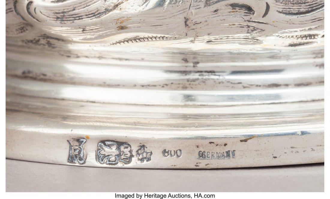 74103: A Set of Four Friedrich Reusswig Silver Figural  - 3