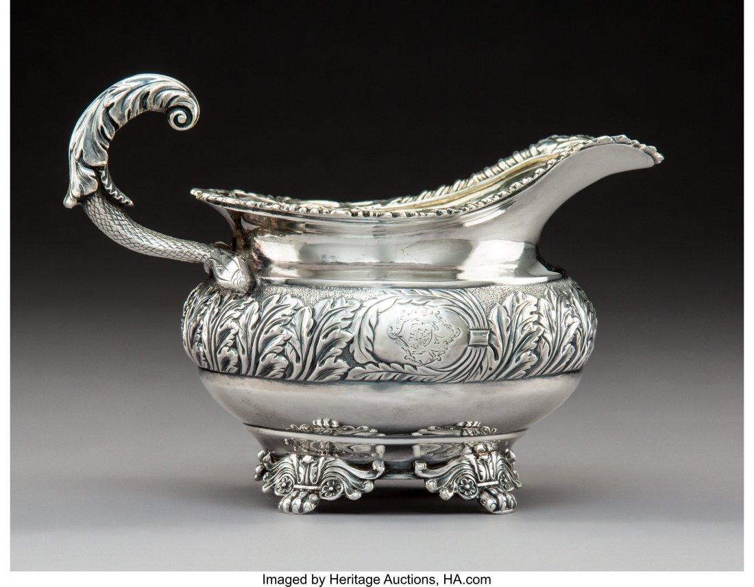 74295: A Joseph Angel I George III Partial Gilt Silver